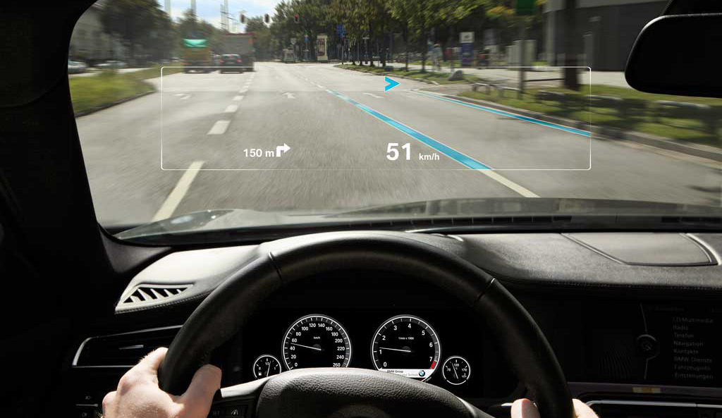 Augmented Reality Displaying on Car Windshield